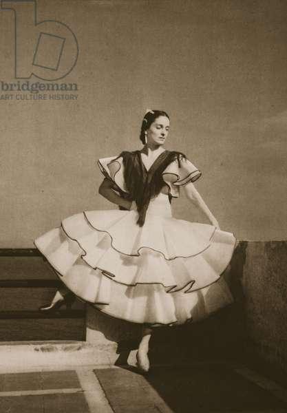 Ana Ricarda, from 'Grand Ballet de Monte-Carlo', 1949 (photogravure)