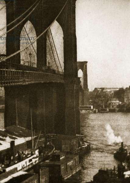 Brooklyn Bridge, c.1910 (photogravure)