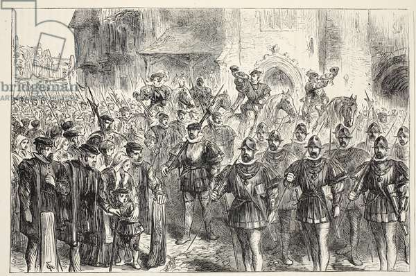 March of the Archers (engraving)