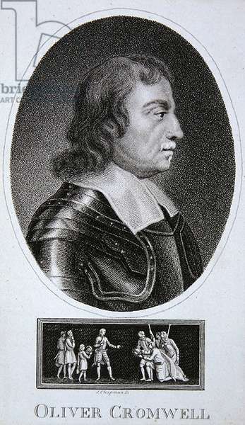 Oliver Cromwell (engraving)