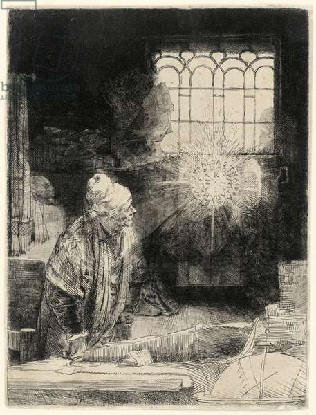 Faust, pub. 1652 (etching)