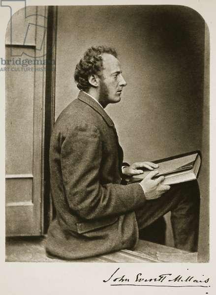 John Everett Millais, 21st July 1865 (sepia photo)