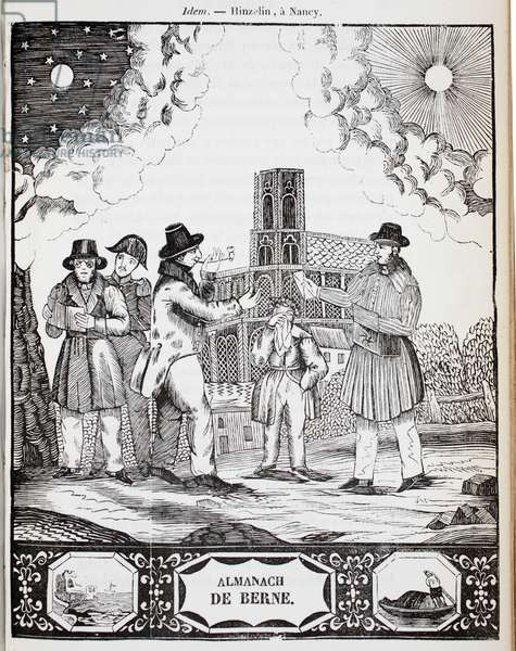 The Bern Messenger (litho)
