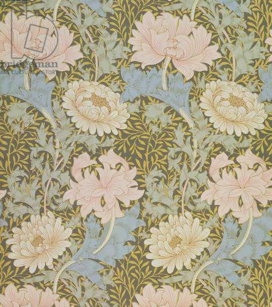 'Chrysanthemum' wallpaper, 1876 (wallpaper)
