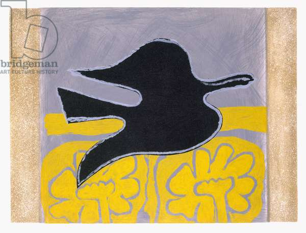 Illustration from 'L'ordre des oiseaux', by Saint-John Perse, 1962 (aquatint)