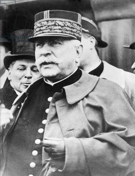 Gen. Joffre (b/w photo)