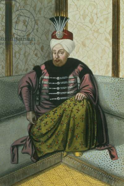 Mahomet (Mehmed) IV (1642-93) Sultan 1648-87, from 'A Series of Portraits of the Emperors of Turkey', 1808 (w/c)