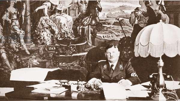 Captain Roehm (b/w photo)