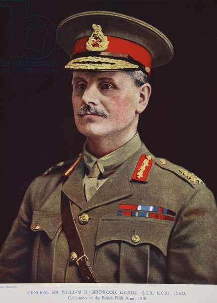 General Sir William R. Birdwood, 1914-19 (colour litho)