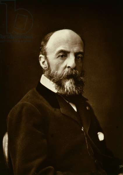 Eugene Fromentin (1820-76), from 'Galerie Contemporaine', c.1874-78 (b/w photo)