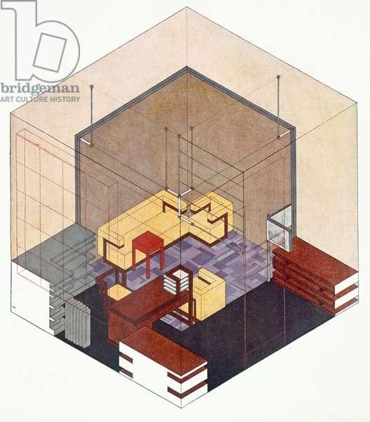 Bauhaus Design (colour litho)