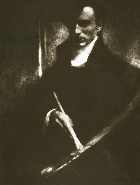 Self portrait (sepia photo)