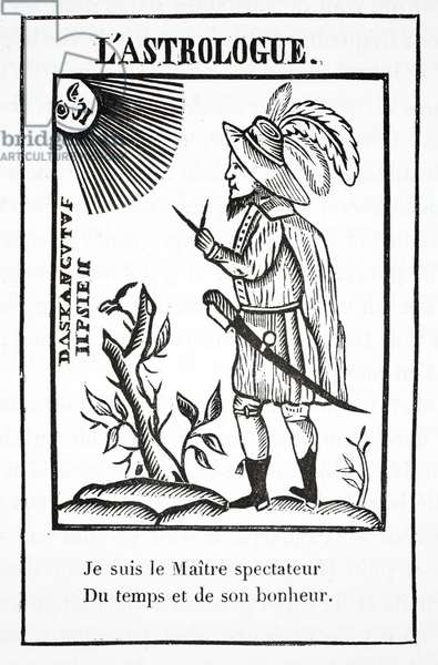 The Astrologer (litho)