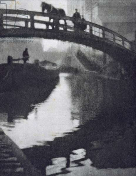 Regent's Canal, from the limited edition portfolio 'London' published 1909 (photogravure)