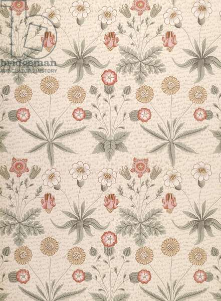 Daisy, first Morris design for wallpaper, 1864