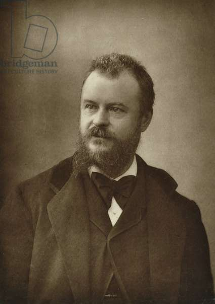 Hector Leroux (1829-1900), from 'Galerie Contemporaine', c.1874-78 (b/w photo)