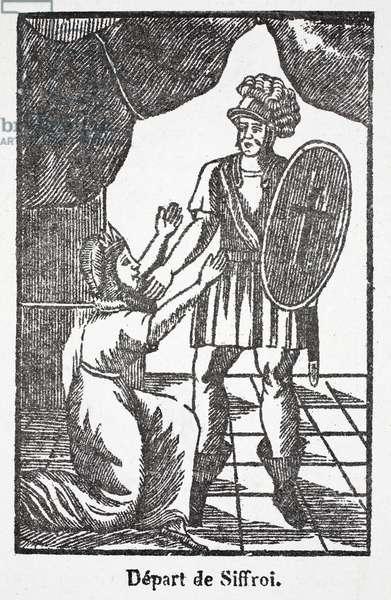 Siffroit's departure (litho)
