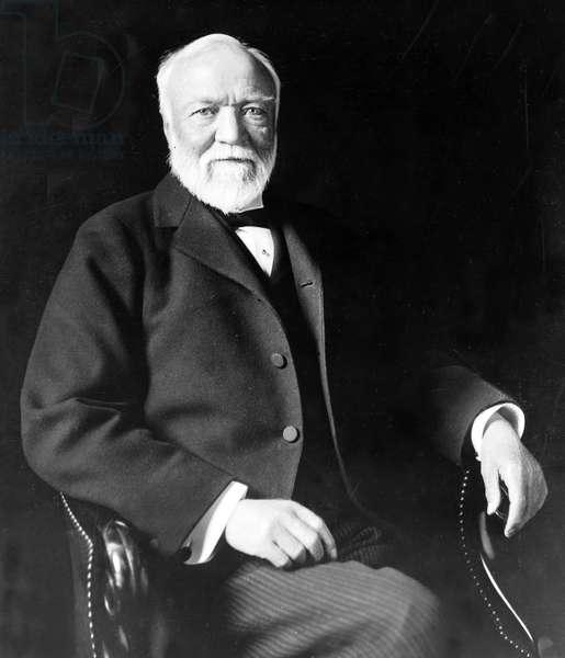 Andrew Carnegie, pub. 1913 (b/w photo)