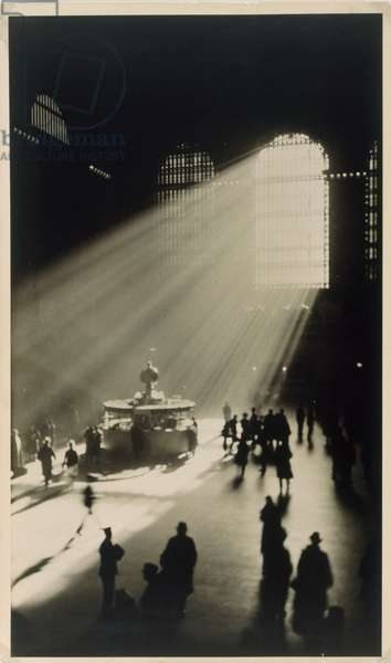 Grand Central Terminal, New York City, 1932 (gelatin silver print)