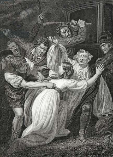 Death of Archbishop Sharp, engraved by T. Holloway, illustration from David Hume's 'The History of England', pub. by R. Bowyer, London, 1812 (engraving)