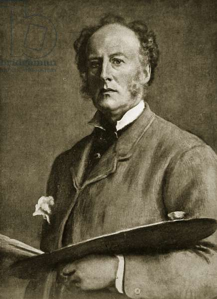 John Everett Millais, 1829-96 (litho)