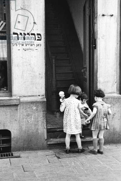 Jewish Quarter, Antwerp 1937