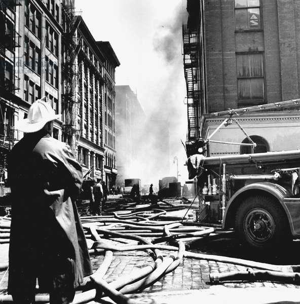 Firemen, New York 1945