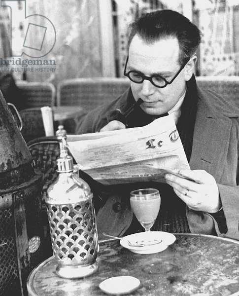 Cafe, Paris 1935