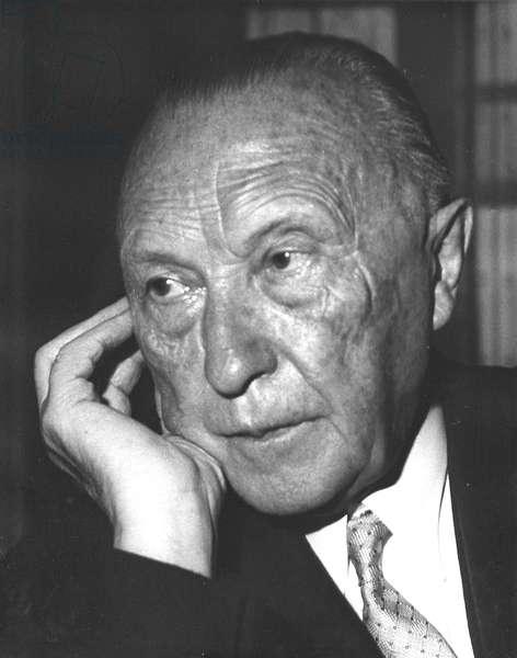 Adenauer, Konrad 1958