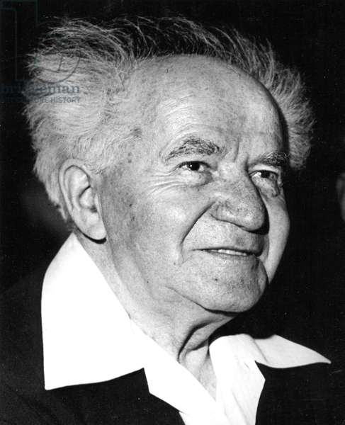 Ben-Gurion, David, 1959
