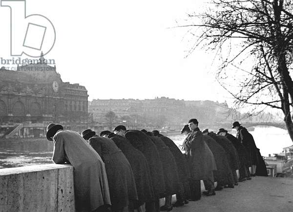 Leaning Over Wall, Paris 1938