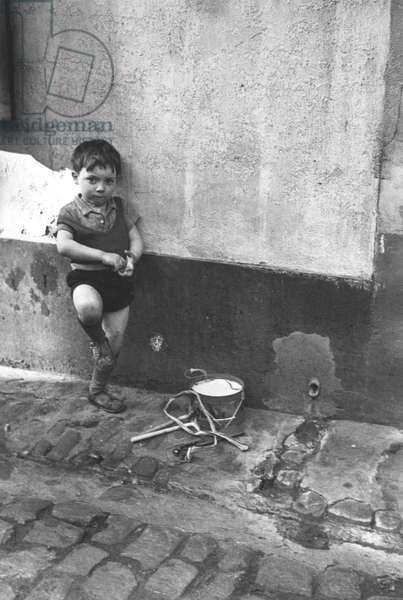 Boy With Drum, Paris 1937
