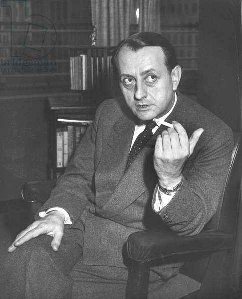 Malraux, Andre, older ca. 1960