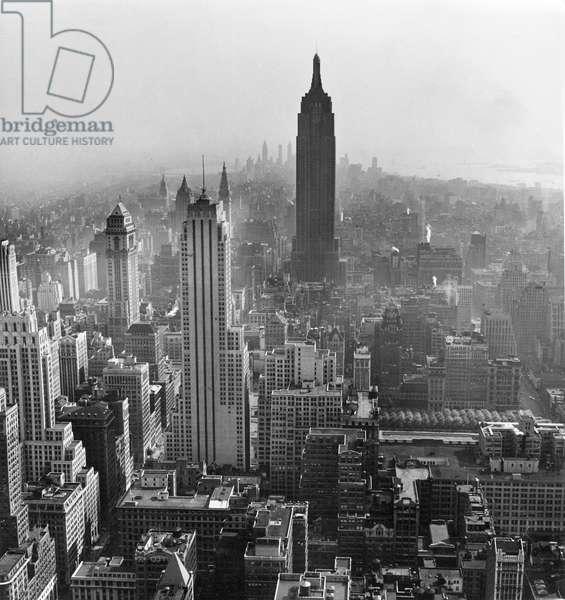 Skyline, New York 1947