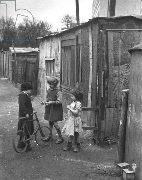 Paris Slum 1935