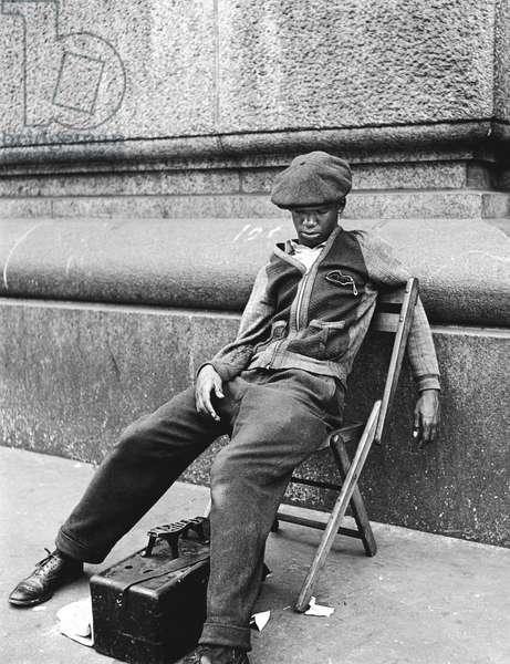 Shoeshine, New York 1948
