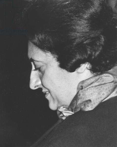 Gandhi, Indira 1960