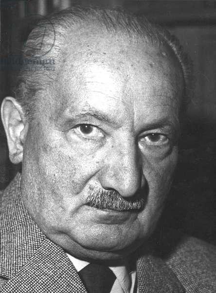 Heidegger, Martin 1958