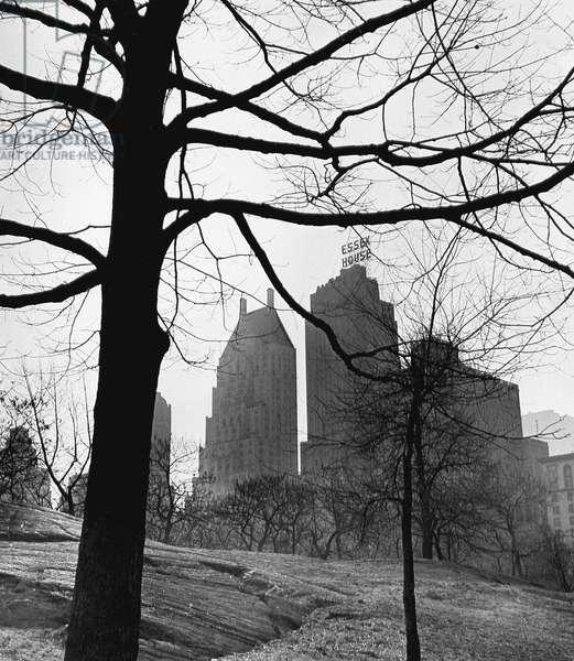 Essex House, Central Park New York 1944