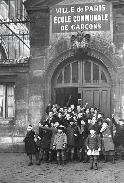 Ecole Communale, Paris 1935