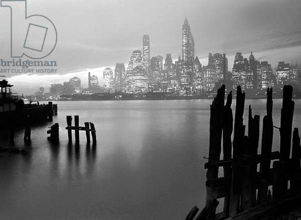 Manhattan Skyline, New York 1946