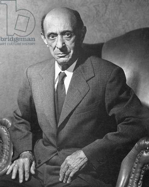 Schoenberg, Arnold 1949