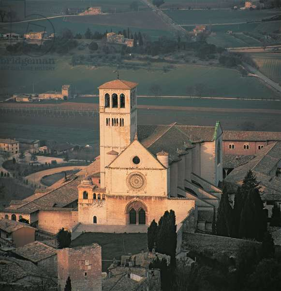 View of the Upper Church of the Monastery of San Francesco, Assisi, Umbria, Italy (photo)