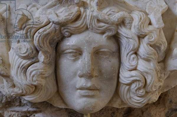 Head of Medusa (marble)