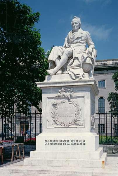 Monument to Alexander von Humboldt (1769-1859) (photo)