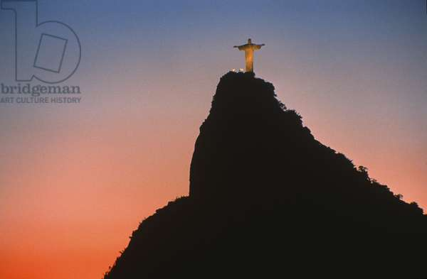 View of Christ the Redeemer (photo)