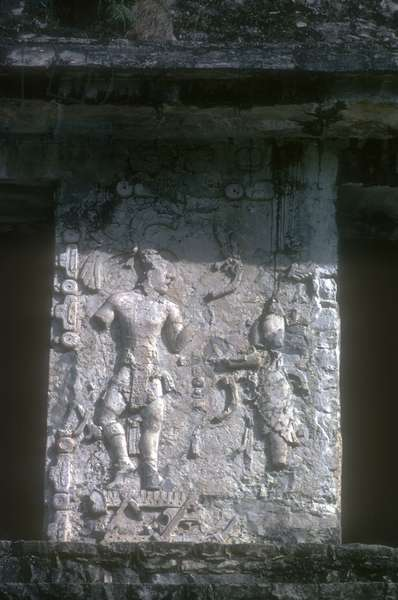Stucco relief from the Great Palace (stone)
