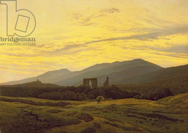 Ruins in the Riesengebirge, 1830-34 (oil on canvas)