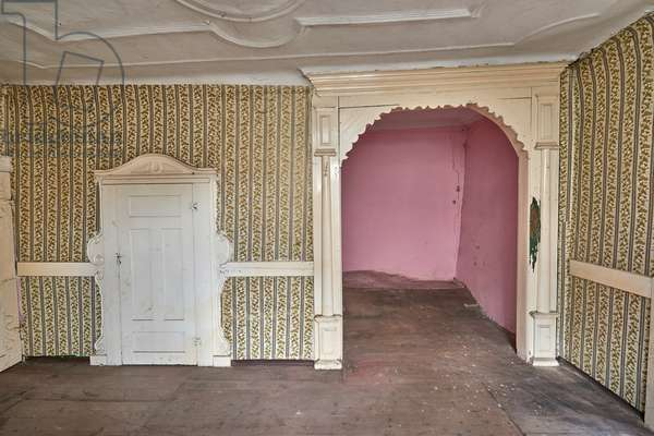 Nieder-Florsheim, old house, room with alcove, built 1736, Florsheim-Dalsheim, Rhinehesse, Rhineland-Palatinate, Germany