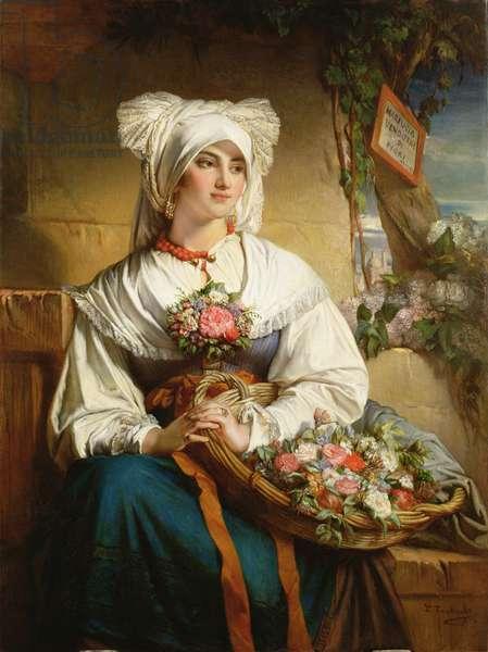 A Trieste Flowergirl